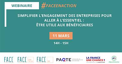 La Fondation FACE, les clubs FACE Grand Toulouse et FACE Var organisent un webinaire pour faciliter l'engagement des entreprises !